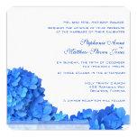 Invitaciones azules 2, cielo del boda de la invitación personalizada