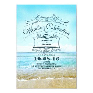 Invitaciones azules de la invitación del boda de