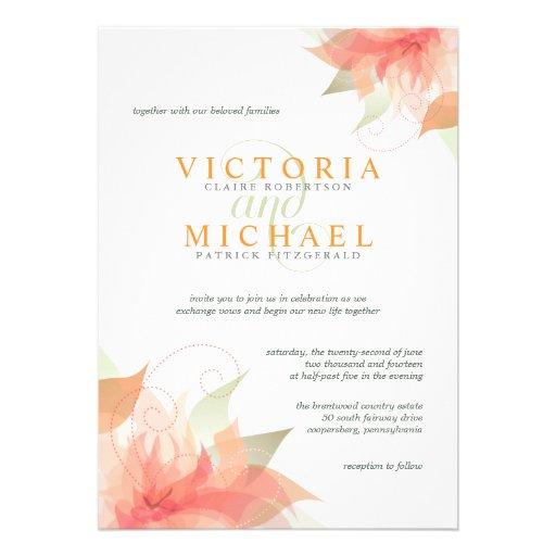 Invitaciones blancas metálicas 2 del boda del hiel comunicado personal