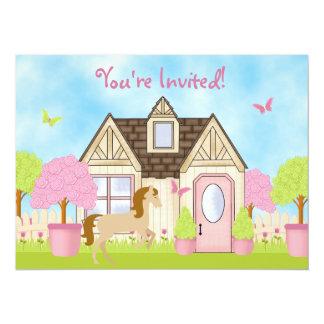 """Invitaciones bonitas de la fiesta de cumpleaños invitación 5.5"""" x 7.5"""""""