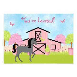 Invitaciones bonitas de la fiesta de cumpleaños de