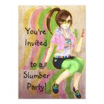 Invitaciones bonitas del fiesta de la víctima de comunicados personalizados