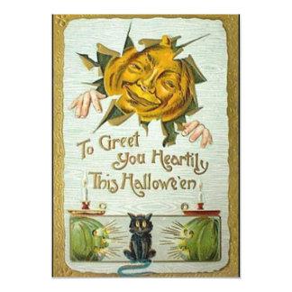 """invitaciones calurosas de los saludos de Halloween Invitación 5"""" X 7"""""""