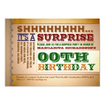 invitaciones coloridas del cumpleaños de la anuncios