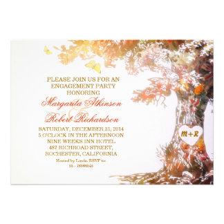 invitaciones coloridas del fiesta de compromiso de