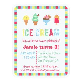 Invitaciones coloridas del fiesta del verano del invitación 10,8 x 13,9 cm