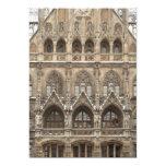 Invitaciones con arquitectura gótica del comunicados personales