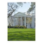 Invitaciones con Casa Blanca Invitación 12,7 X 17,8 Cm