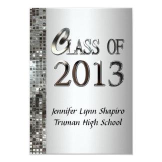 Invitaciones con clase 2013 de la graduación de la invitacion personalizada