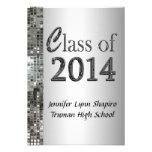 Invitaciones con clase 2014 de la graduación de la comunicados