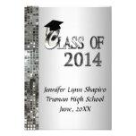 Invitaciones con clase 2014 de la graduación de la comunicado