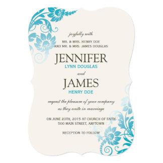 Invitaciones con clase del boda del trullo de invitación 12,7 x 17,8 cm
