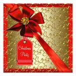 Invitaciones corporativas de la fiesta de Navidad  Invitaciones Personalizada