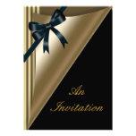 Invitaciones corporativas del aprecio del cliente  comunicados personalizados