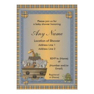 Invitaciones cristianas de la fiesta de bienvenida invitación 12,7 x 17,8 cm