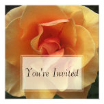 Invitaciones cuadradas de la floración invitación 13,3 cm x 13,3cm