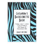 Invitaciones de Bachelorette del estampado de Invitación