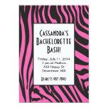 Invitaciones de Bachelorette del estampado de Invitaciones Personales