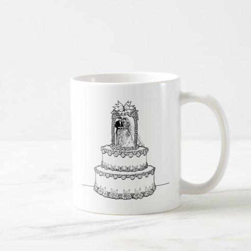 Invitaciones de boda 6 taza básica blanca