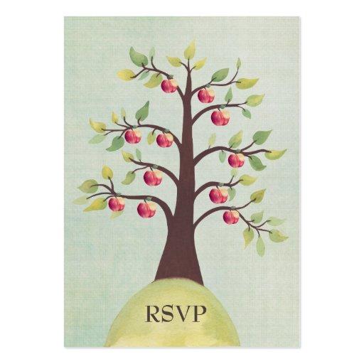 Invitaciones de boda de la naturaleza de la acuare tarjeta de negocio