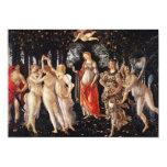 Invitaciones de Botticelli Primavera Comunicado