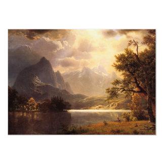 Invitaciones de Colorado del parque de Bierstadt Anuncio Personalizado