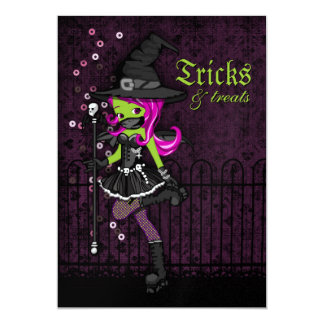 """Invitaciones de Drucilla Halloween Invitación 5"""" X 7"""""""