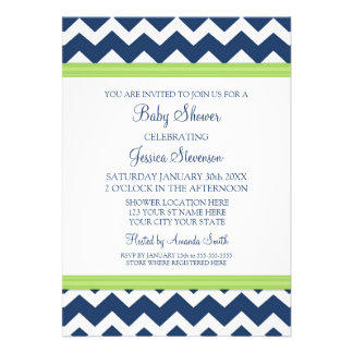 Invitaciones de encargo azules de la fiesta de bie invitaciones personalizada