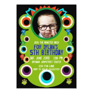 Invitaciones de encargo de la fiesta de cumpleaños comunicado personalizado