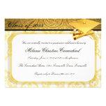 Invitaciones de encargo de la fiesta de graduación comunicados