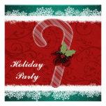 Invitaciones de encargo de la fiesta de Navidad Comunicados Personales