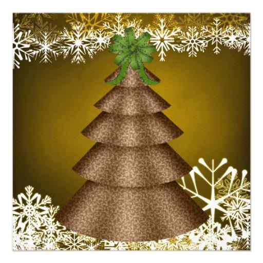 Invitaciones de encargo de la fiesta de Navidad Invitaciones Personales