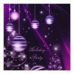 Invitaciones de encargo de la fiesta de Navidad Anuncio