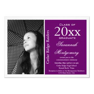 Invitaciones de encargo de la graduación de la invitación 11,4 x 15,8 cm