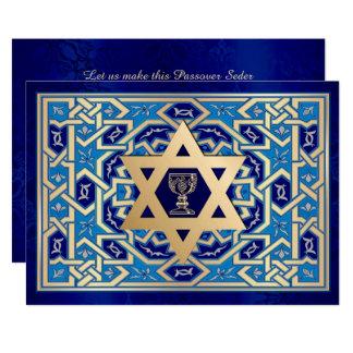"""Invitaciones de encargo de Seder del Passover Invitación 5"""" X 7"""""""