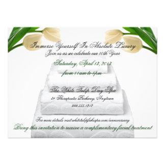 Invitaciones de encargo del acontecimiento del bal invitaciones personalizada