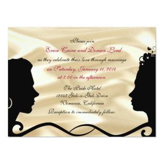 """Invitaciones de encargo del boda de las novias invitación 6.5"""" x 8.75"""""""