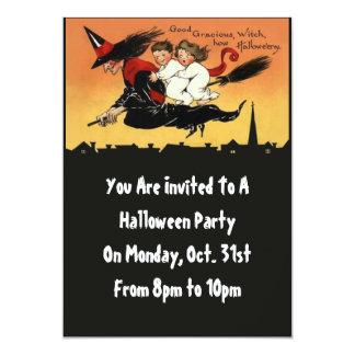 """Invitaciones de encargo del fiesta de Halloween Invitación 5"""" X 7"""""""