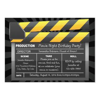 Invitaciones de encargo del fiesta del tablero de anuncio