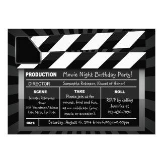 Invitaciones de encargo del fiesta del tablero de anuncio personalizado