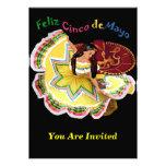 Invitaciones de Feliz Cinco de Mayo Anuncio Personalizado