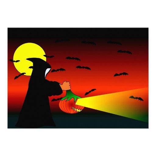 Invitaciones de Halloween