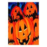 Invitaciones de Halloween de las calabazas