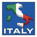 Invitaciones de Italia del viaje del vintage Comunicados Personalizados