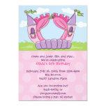 Invitaciones de la casa de la despedida: Princesa Invitación 12,7 X 17,8 Cm