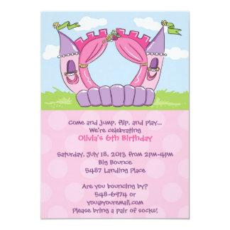 Invitaciones de la casa de la despedida: Princesa Invitaciones Personales