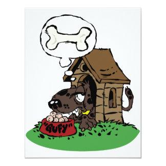 Invitaciones de la casa de perro invitaciones personales