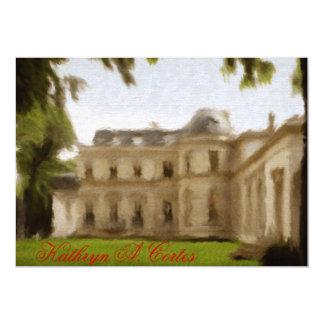 """Invitaciones de la casa de Versalles Invitación 5"""" X 7"""""""