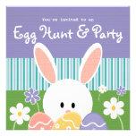 Invitaciones de la caza del huevo de Pascua Comunicados Personalizados