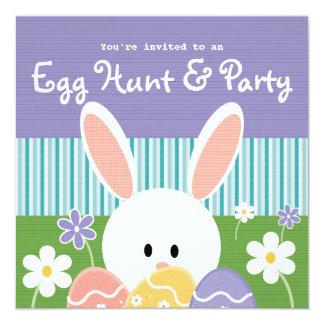 """Invitaciones de la caza del huevo de Pascua Invitación 5.25"""" X 5.25"""""""